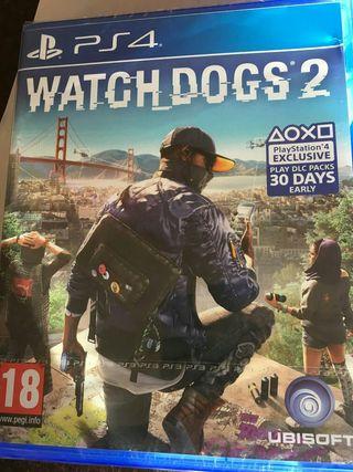 watch dogs 2 ps4 nuevo 1 solo uso