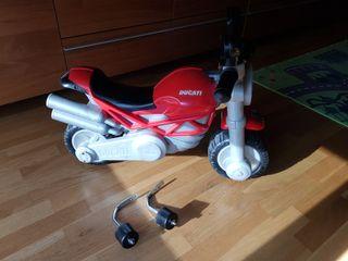Moto juguete niño ruedines