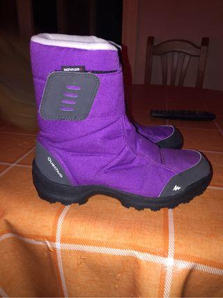Botas quechua lila