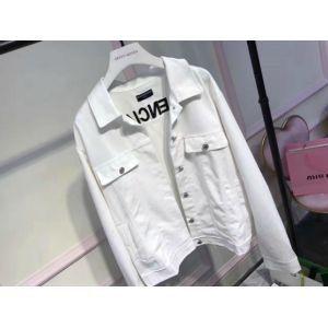 Balenciaga White Denim Shirt