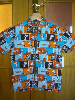 camisa Snoopy H&M