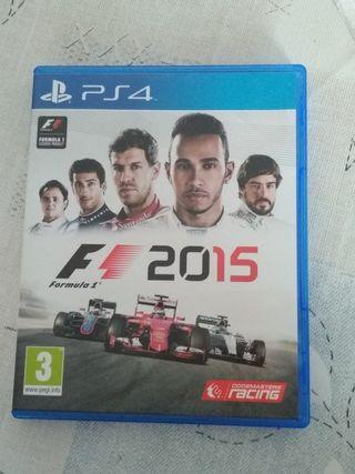 F1 2015 PS4 Seminuevo