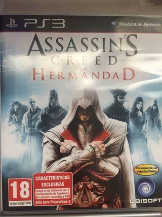 Assassins Creed La hermandad PS3