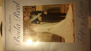 Albun de foto de la boda real