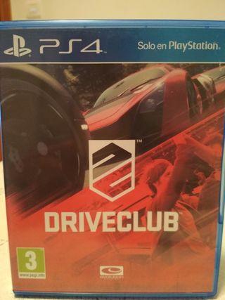 DriveClub PS4 Seminuevo