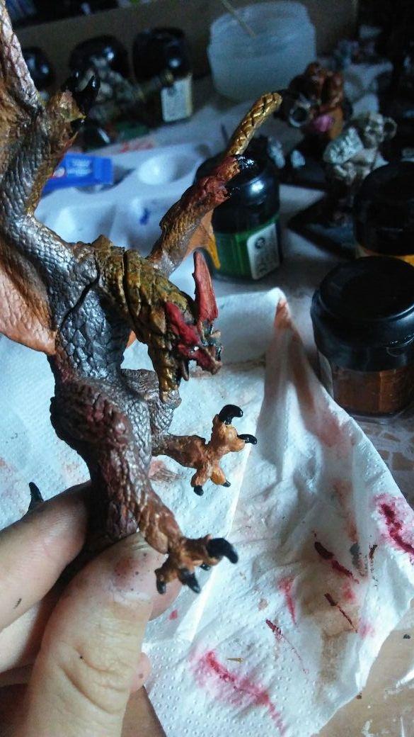 figuras monster hunter seregios