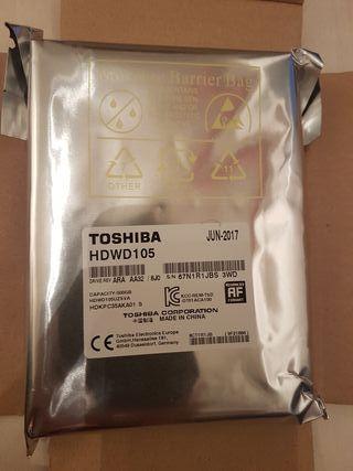 "Disco Duro 3.5"" Toshiba 500Gb nuevo"