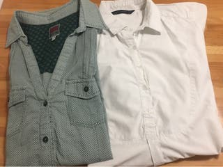2 camisas chica t. L