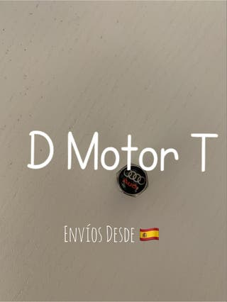 Set tapones valvulas metal coche RLine VW Audi BMW
