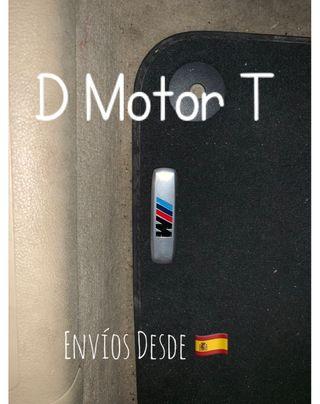 Set Placas Metal Alfombrillas BMW M Sport