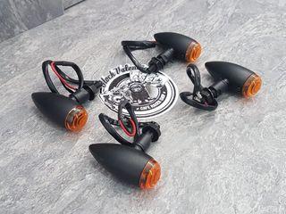 intermitentes tipo Bala custom homologado moto