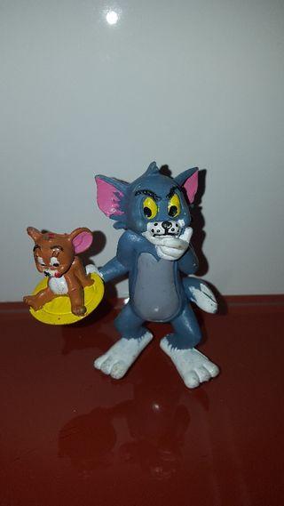 figura pvc goma Tom y Jerry comics spain