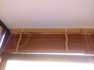 Dos persianas madera 80x160