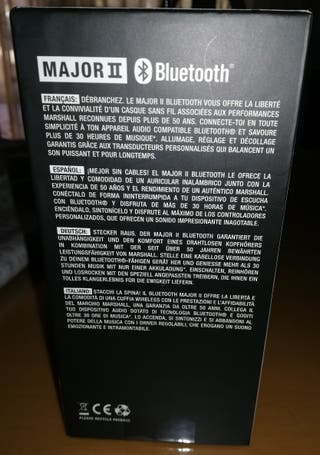 Auriculares inalambricos con Bluetooth Marshall