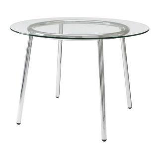 ikea mesa redonda de cristal para jardín