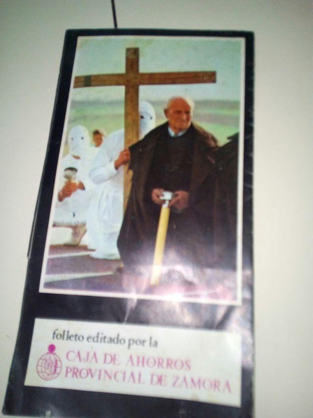 folleto antiguo