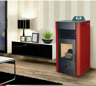 estufa de biomasa marca fogosur 12,5kw
