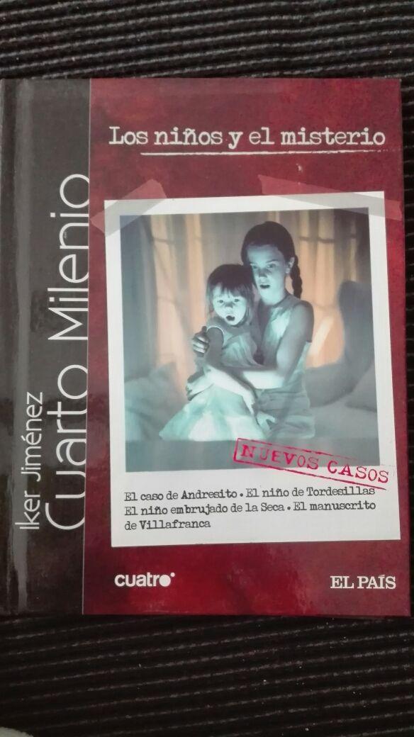 Dvd-LIBRO CUARTO MILENIO (Iker Jiménez). Vol 1. de segunda mano por ...