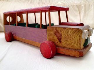 Autobus de Madera.