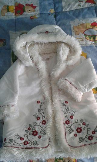 abrigo niña 12-18 meses