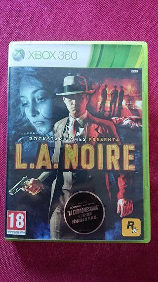 Videojuego L. A. NOIRE x box 360