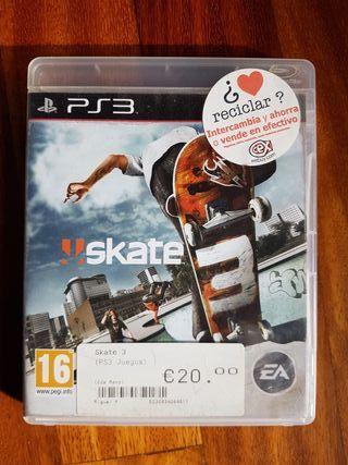 JUEGO PS3 'Skate 3'