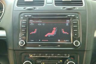 Radio GPS con instalación Volkswagen SEAT Skoda