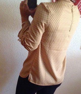 Blusa beige Sfera