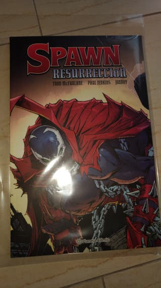 Cómic Spawn resurrection