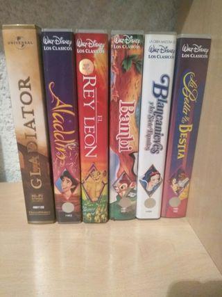 Colección VHS Disney originales