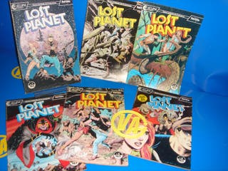Cómic mini serie LOST PLANET de 6 números