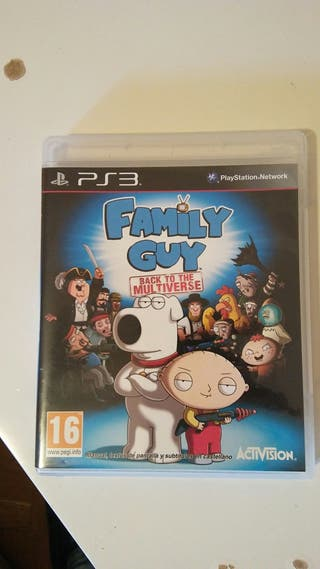 juego ps3 family guy back to the multiverse