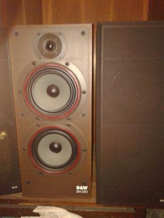 Altavoces B W DM220
