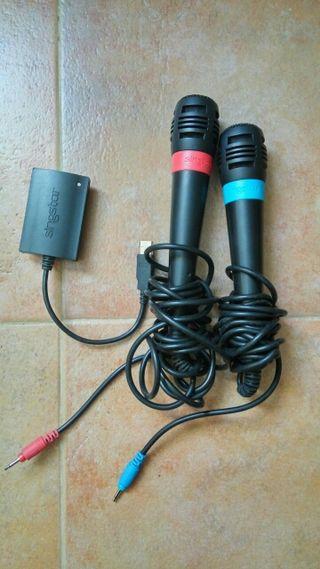 Microfonos Sing Star