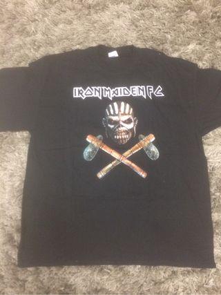 Iron maiden camiseta fan club talla XL nueva