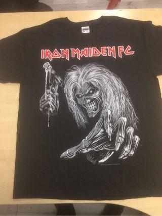 Iron maiden camiseta fan club talla L nueva