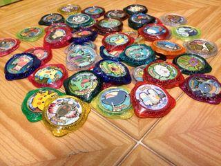 Pack de tazos Pokémon