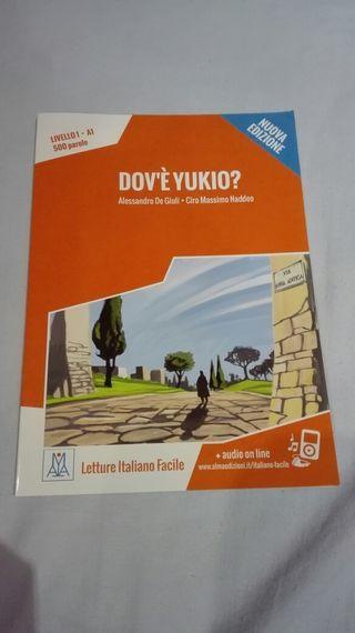 """Libro lectura italiano """"Dov'è Yukio?"""""""