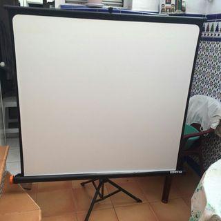 pantalla de proyector