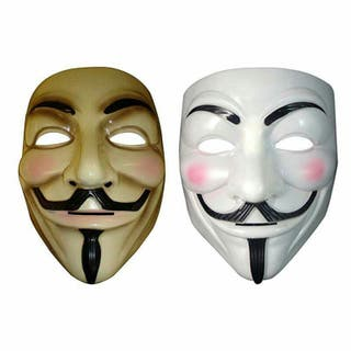 Máscara Anonymous adulto