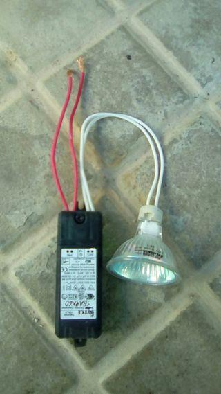 kit de halogeno y traformador electronico 12V
