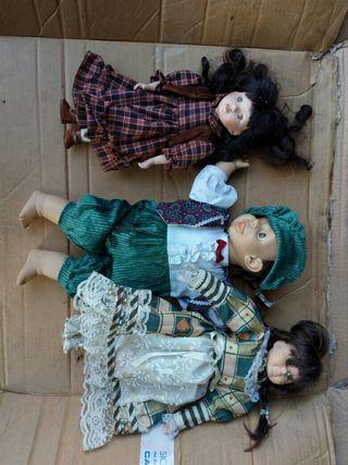 muñecas de porzelana
