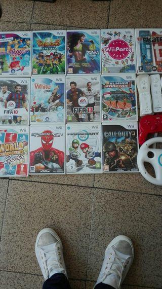 Consola wii y juegos