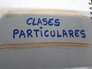 Clases particulares INGLÉS 8€