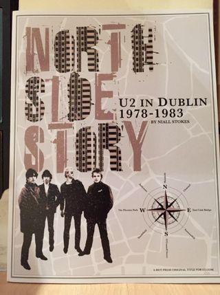 Libro U2. North side story. Edición limitada