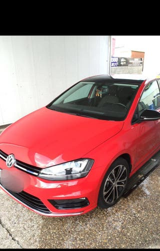 Coche Volkswagen Golf VII Rline 2.0 tdi sport 150cv