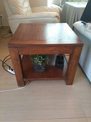 mesa banak madera