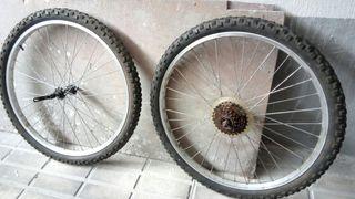 ruedas llantas Bicicleta montaña