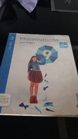 libro matematicas para 3°