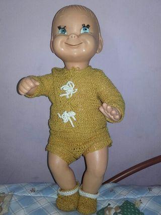 Muñeco antiguo años 60